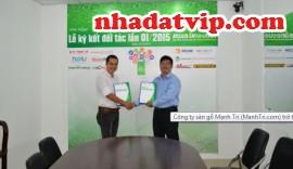 Công ty Sàn Gỗ Mạnh Trí với Partner MuaBanNhanh.com
