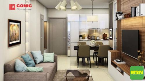 Tiến độ, hình ảnh thực tế dự án căn hộ chung cư Conic Riverside quận 8